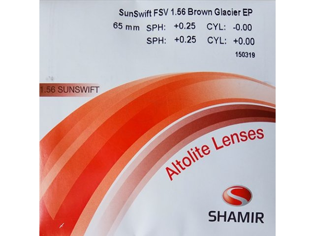 Shamir Altolite 1.56 SunSwift Glacier (Brown,Grey)