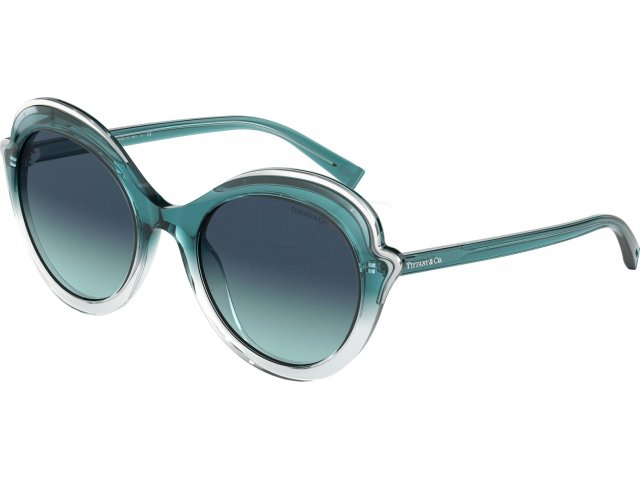 Tiffany TF4155 82239S Transp Petroleum Grad Blue