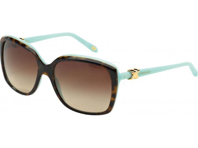 Tiffany TF4076 81343B Top Havana/blue