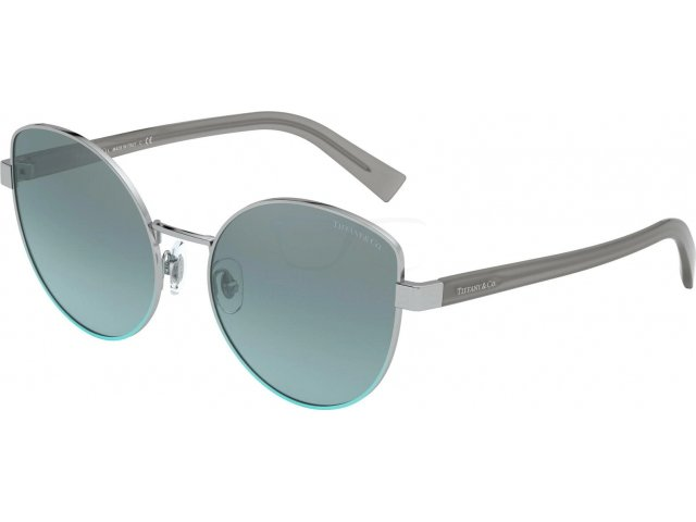 Tiffany TF3068 61437C Silver Gradient Blue