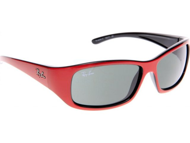 Ray-Ban RJ9046S 162/71 Top Red On Black
