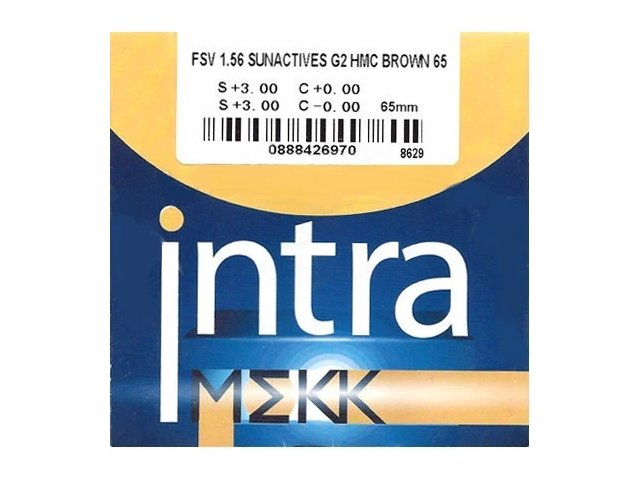 Intra MEKK FSV 1,56 Sunactives G2 Photochromic HMC