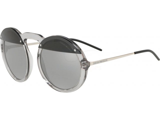 Emporio armani EA4121 57076G Transparent Grey