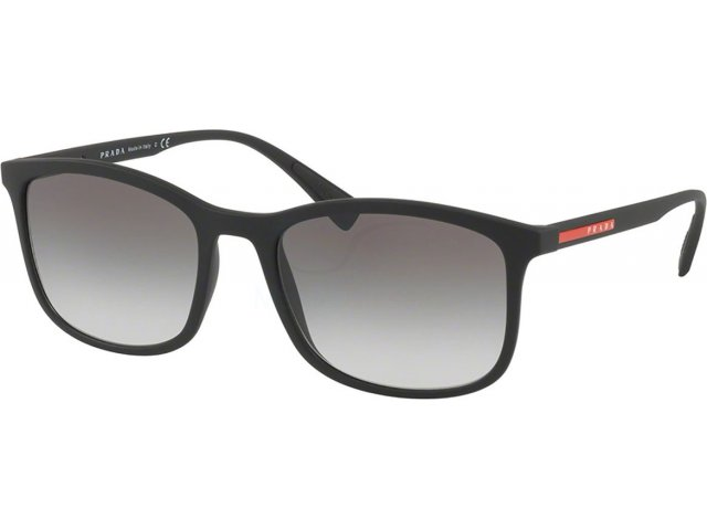 Prada linea rossa Lifestyle PS 01TS DG00A7 Black Rubber