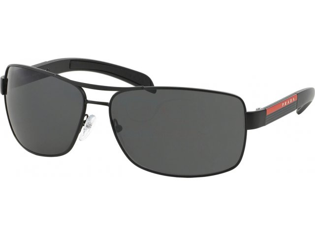 Prada linea rossa PS 54IS 1BO1A1 Matte Black+black Rubb.