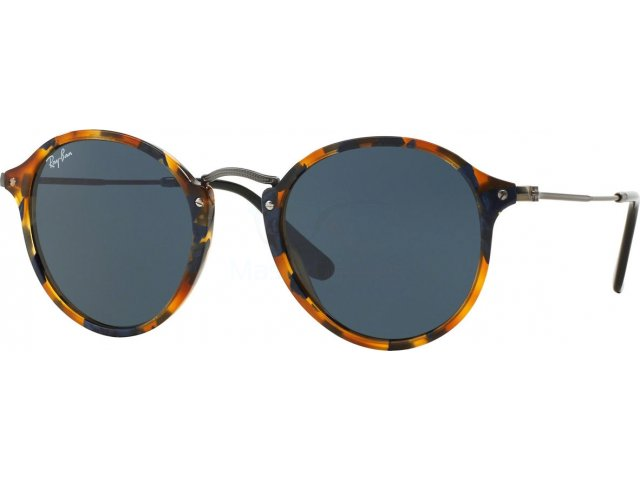 Ray-Ban Round Fleck Havana Collection RB2447 1158R5