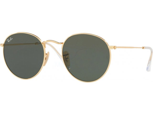 Ray-Ban Round Flat Lenses RB3447N 001