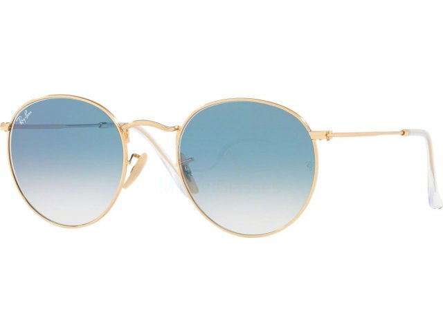 Ray-Ban Round Flat Lenses RB3447N 001/3F