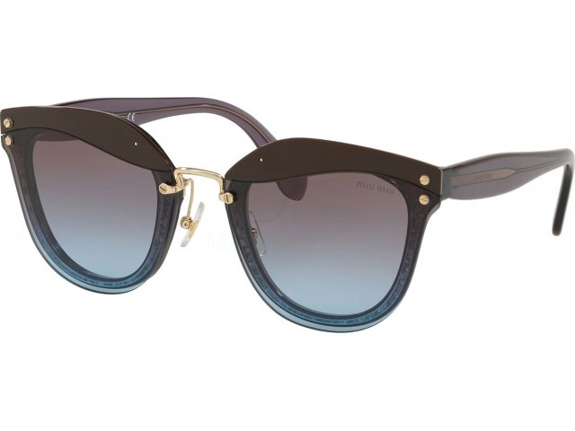 Miu miu Core Collection MU 03TS B03152 Violet Transparent/glitter