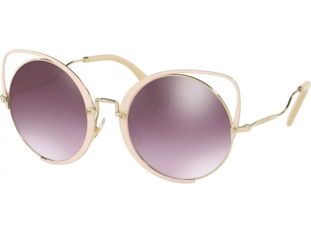 Miu miu Core Collection MU 51TS 4UD085 Pale Gold/glieter Peach