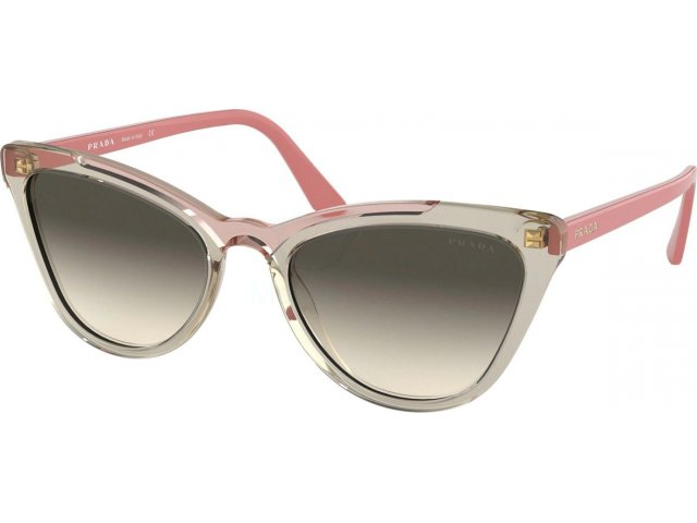 Prada Catwalk PR 01VS 326130 Transp Brown/transp Pink
