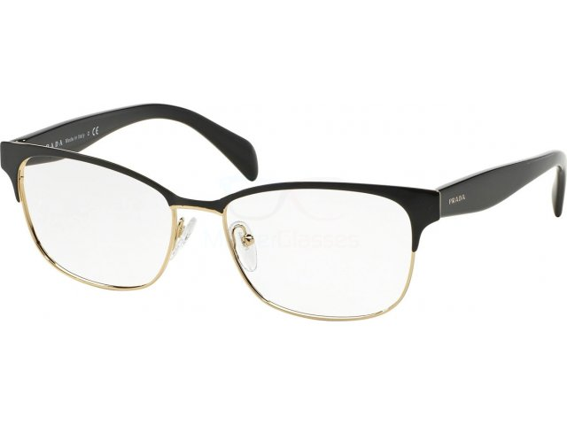 Оправа Prada Conceptual PR 65RV QE31O1 Black On Pale Gold