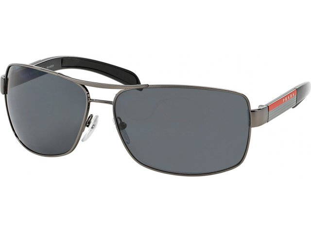 Prada linea rossa PS 54IS 5AV5Z1 Gunmetal