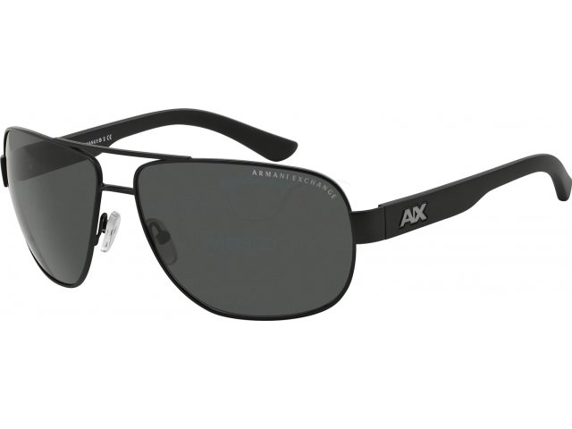 Armani exchange AX2012S 606387 Satin Black/black