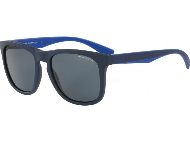 Armani exchange AX4058S 819887 Matte Dark Blue