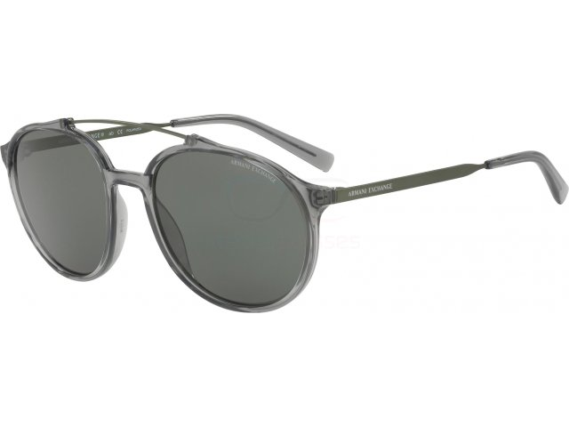 Armani exchange AX4069S 82439A Transparent Dark Grey