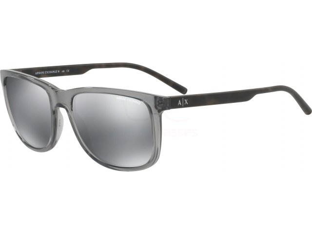 Armani exchange AX4070S 82396G Transparent Magnet Grey