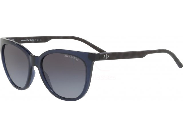 Armani exchange AX4072S 82378G Transparent Blue