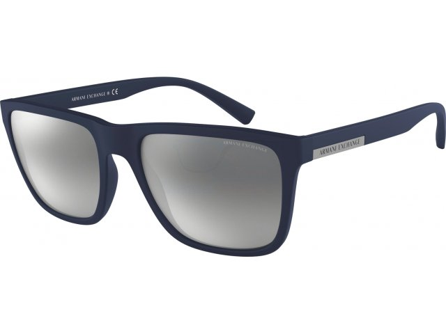 Armani exchange AX4080S 82786G Matte Transparent Blue Navy